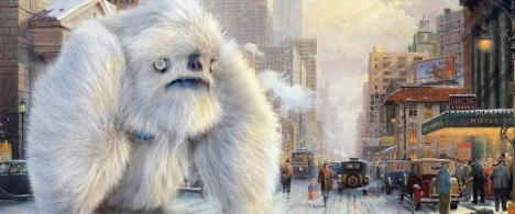 If a Yeti appeared in a Kinkade�