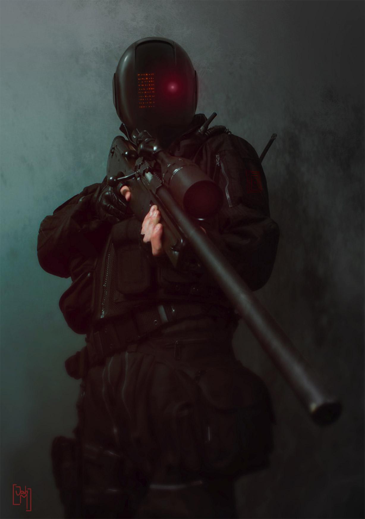 Combine Soldier Concept Art