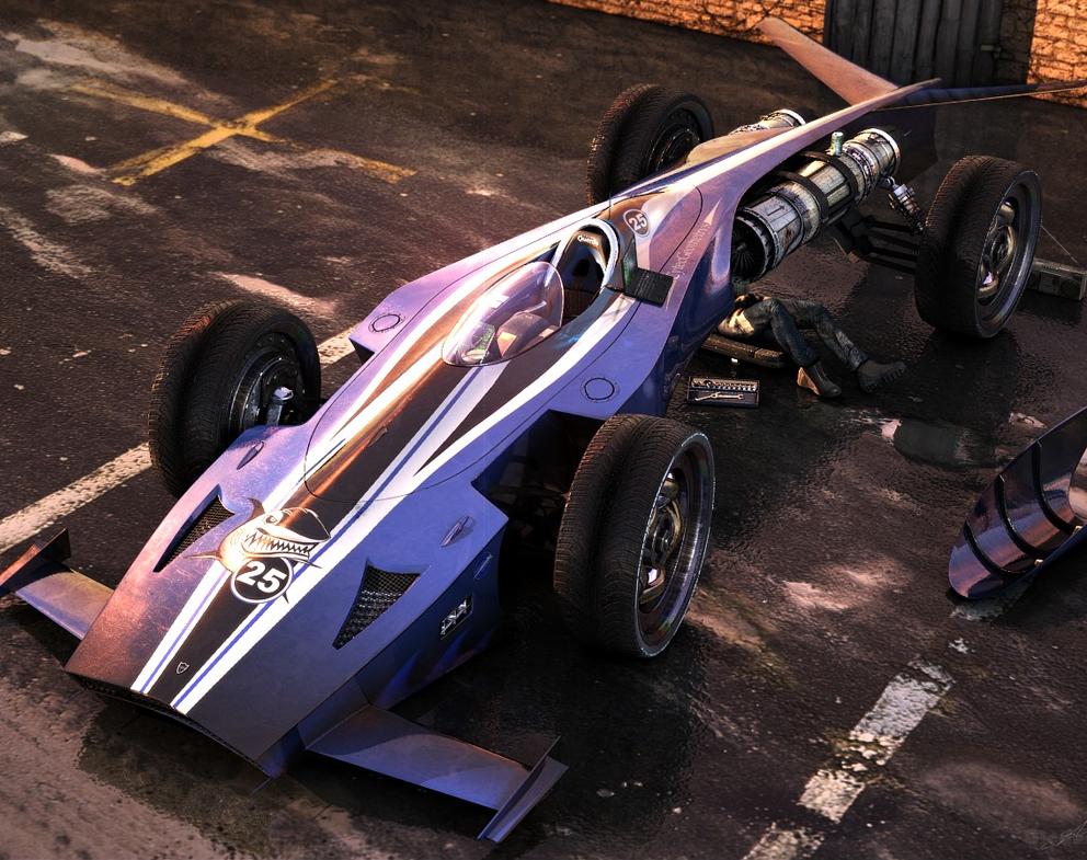 Blender F1